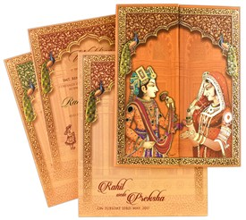 Indian Wedding Cards Scroll Wedding Invitations Theme Wedding Cards Wedding Invitations