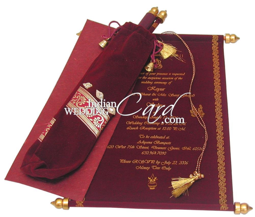 scroll wedding invitations with rsvp cards - Boat.jeremyeaton.co