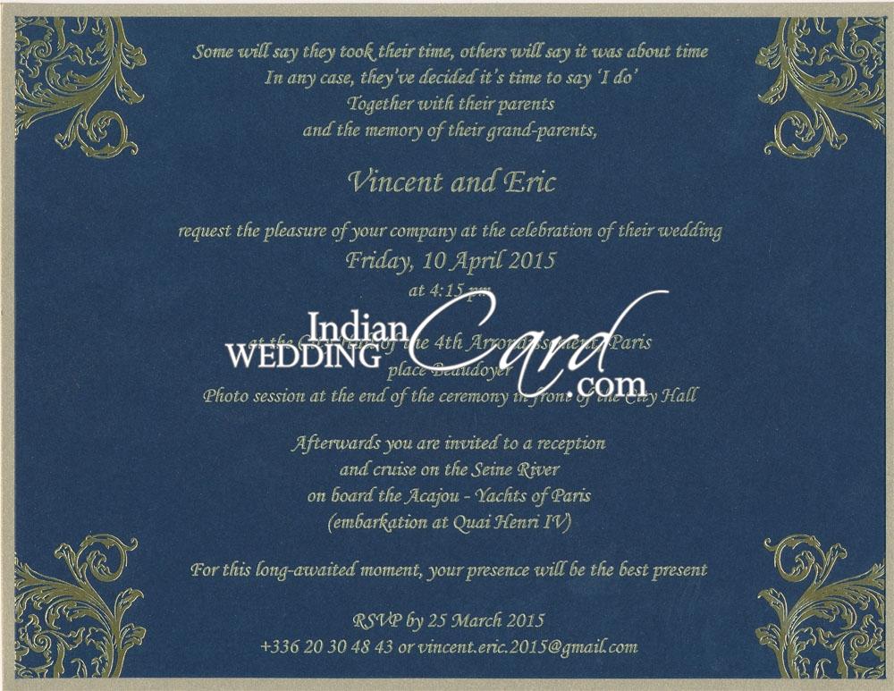 D 6829 blue color designer multifaith invitations exclusive productimage stopboris Images