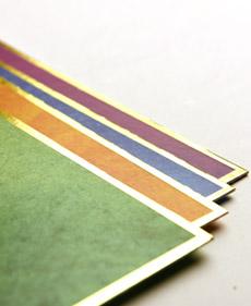 Border in Foil Printing