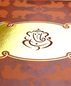 Logo in Foil Printing