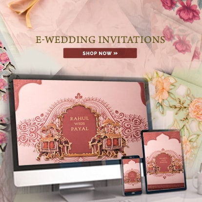 E Wedding Invitations
