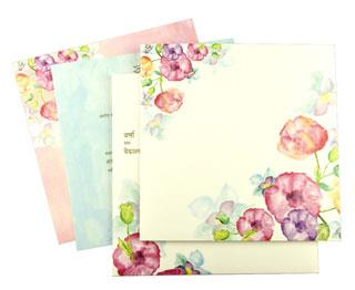 Floral Theme Cards