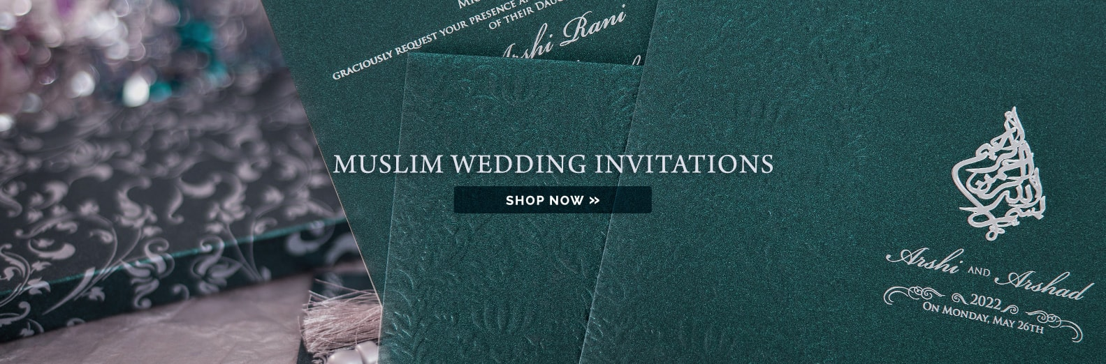 largest collection scroll invitations muslim wedding cards - Muslim Wedding Cards