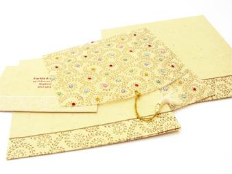 Indian Wedding Cards Invitations Scroll