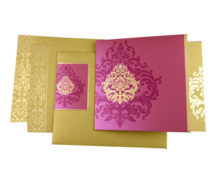 Damask Theme Cards
