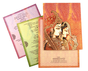 Bride-Groom Theme Card