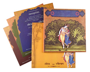 Radha Krishan Theme Card