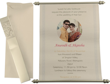 scroll invitations bat bar mitzvah invitations wedding