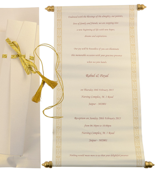 scroll wedding invite elita aisushi co