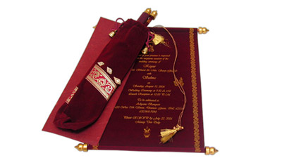 scroll invitations scroll wedding invitations scroll