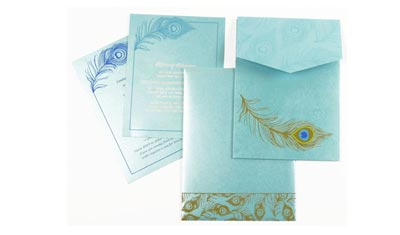Peacock Theme Cards
