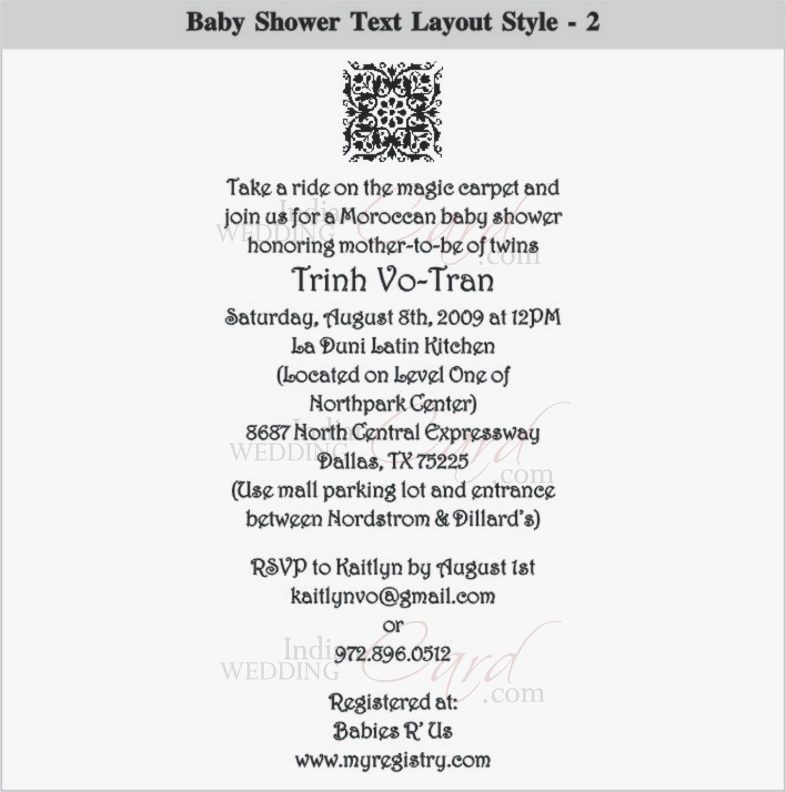 Scroll wedding invitations scroll invitations wedding scrolls bat baby shower layout 2 filmwisefo Images
