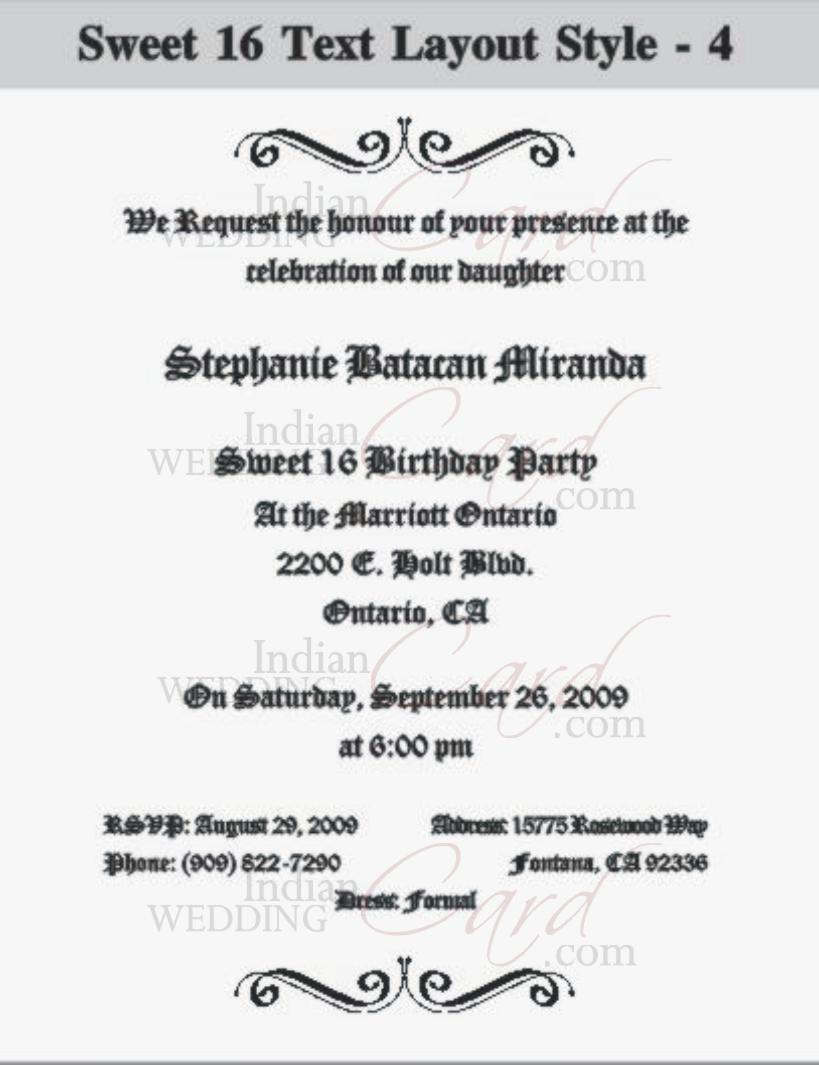 sweet sixteen program template - scroll wedding invitations scroll invitations wedding