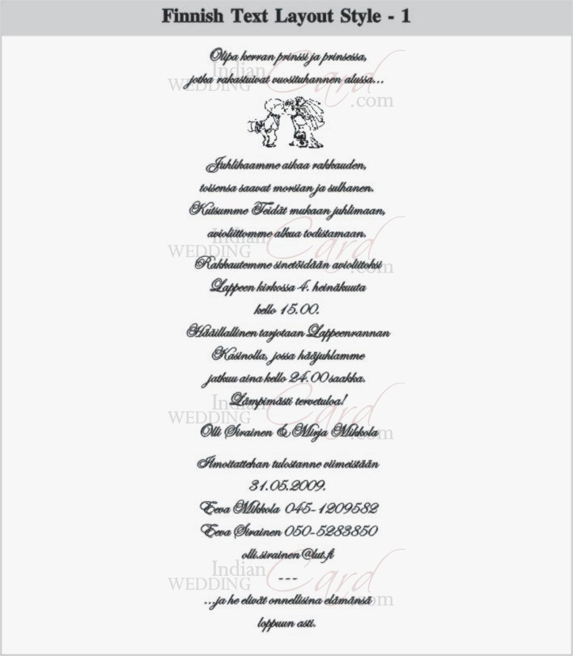 Fantastic Wedding Invitation Speech Image Collection - Invitation ...