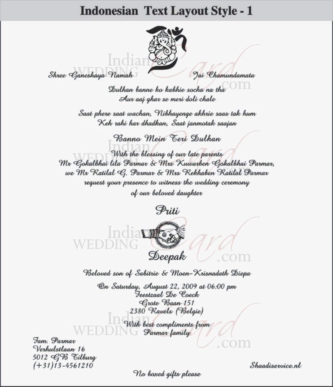 Image Result For Indian Wedding Card Com