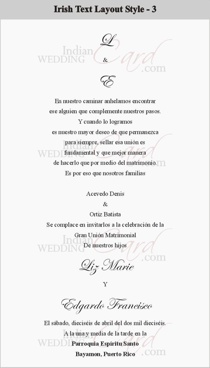 Scroll wedding invitations scroll invitations wedding scrolls bat irish text layout 3 filmwisefo Images