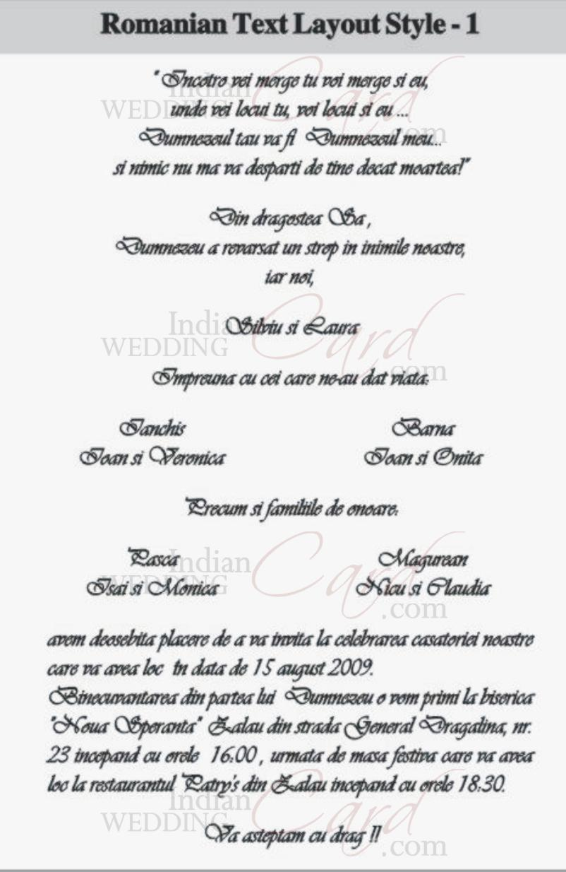 Scroll wedding invitations scroll invitations wedding scrolls bat romanian text layout 1 filmwisefo Choice Image